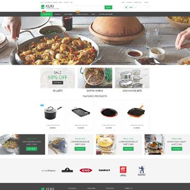 Housewares Responsive ZenCart Template #55145