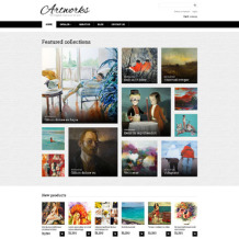 Art Gallery Responsive VirtueMart Template