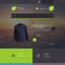 Private Airline Responsive OpenCart Template