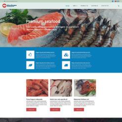 Frozen Food Responsive Website Template