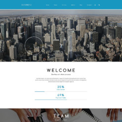Business Responsive Drupal Template