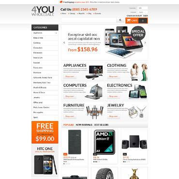 4You Wholesale PrestaShop Theme #55221