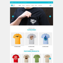 T-shirt Shop Responsive WooCommerce Theme