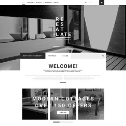 Real Estate Agency Responsive OpenCart Template