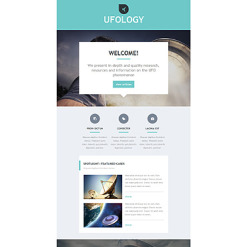 UFO Responsive Newsletter Template