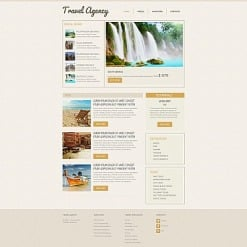 Travel Agency Moto CMS HTML Template