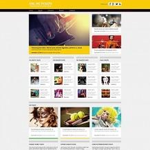 Tickets Website Moto CMS HTML Template