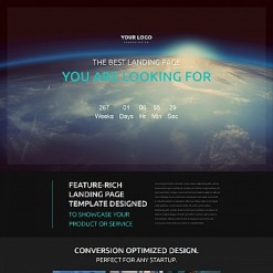 Communications Responsive Moto CMS 3 Template