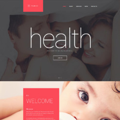 Family Responsive Drupal Template