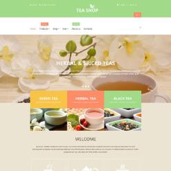 Tea Shop Responsive Shopify Theme