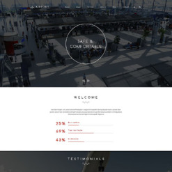 Private Airline Responsive Drupal Template