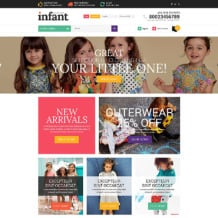 Baby Store Responsive Shopify Theme