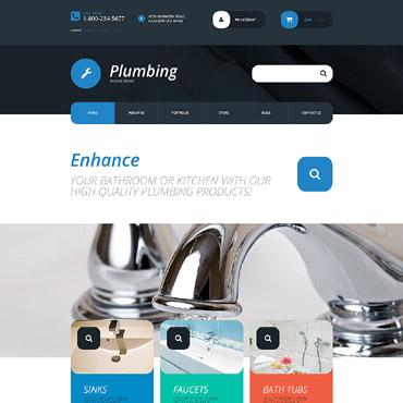 Plumbing Responsive WooCommerce Theme