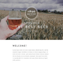 Brewery Responsive Newsletter Template