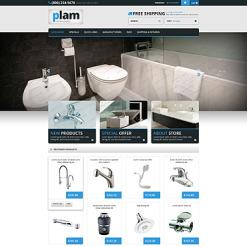Plumbing Responsive ZenCart Template