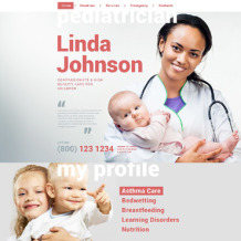 Pediatrician Responsive Website Template
