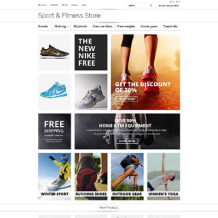 Fitness OsCommerce Template