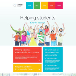 University Responsive Joomla Template