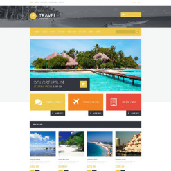 Travel Agency OsCommerce Template