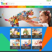 Toy Store Responsive PrestaShop Theme