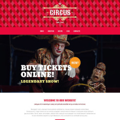 Circus Responsive WordPress Theme