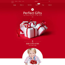 Gifts Store Responsive WooCommerce Theme