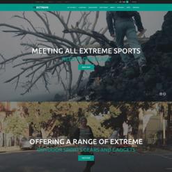 Extreme Sports Responsive PrestaShop Theme