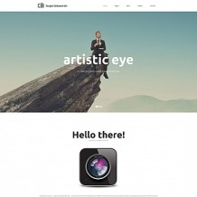 Photographer Portfolio Moto CMS HTML Template