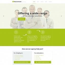 Job Portal Moto CMS HTML Template