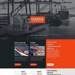 Maritime Moto CMS HTML Template