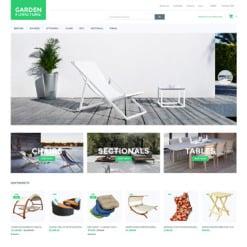 Garden Design Responsive Magento Theme