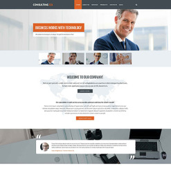 Consulting PSD Template