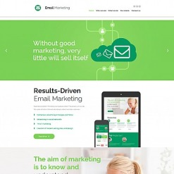 Email Services Responsive Moto CMS 3 Template