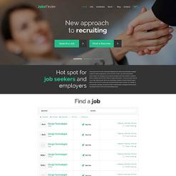 Job Portal PSD Template