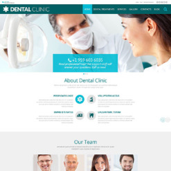 Dentistry PSD Template