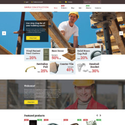 Construction Company Shopify Theme