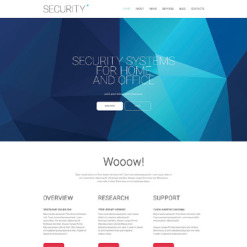 Security Drupal Template