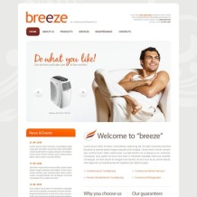 Air Conditioning PSD Template
