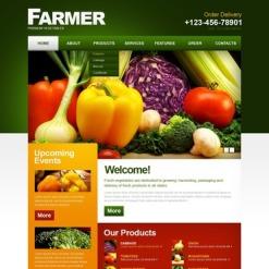 Farm PSD Template