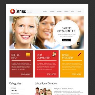 Business School PSD Template