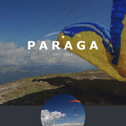 Paragliding Responsive Newsletter Template