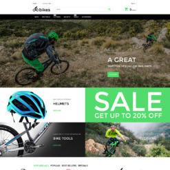 Cycling PrestaShop Theme