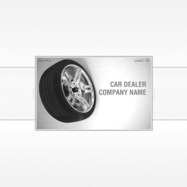 Car Dealer Flash Intro Template