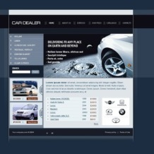 Car Dealer SWiSH Template