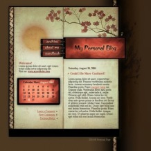Personal Page SWiSH Template