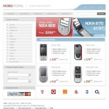 Mobile Store SWiSH Template