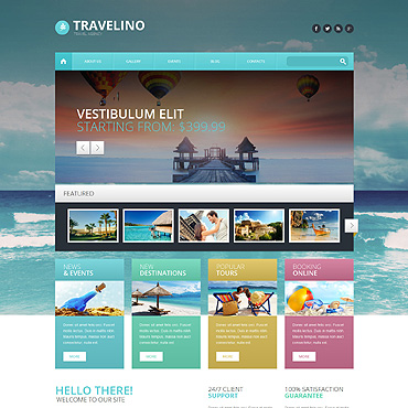 theme WordPress Travel Agency
