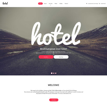theme WordPress Hotel
