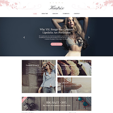 theme WordPress Kustrix